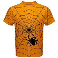 New Halloween Spider Web Men's T-Shirt Size S M L XL 2XL 3XL tee Free Shipping