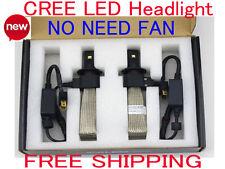 80W CREE LED Headlight Conversion Kit H4 H7 H11 H1 6000K White Light Bulb Lamp