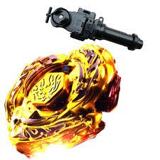 Beyblade L-Drago Destructor Destroy DF105LRF Gold Armored + Launcher +Black Wire