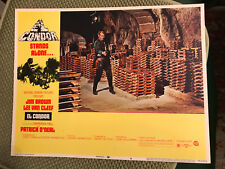 El Condor 1970 National General western lobby card Lee Van Cleef