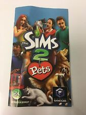 Manuel Only for Sims 2: Pets (Nintendo GameCube, 2006)