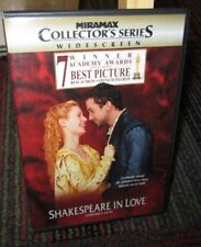 Shakespeare In Love - Collector'S Series Dvd Movie, Gwyneth Paltrow, Ben Affleck