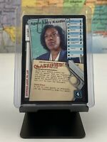SHIPS SAME DAY The X-Files Card Agent Lucy Kazdin Premiere Set 1996 Rare CCG TCG
