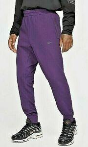 Nike Sportswear Tech Pack Jogger Pants Purple Tapered Leg BV4452-525 Mens Sz S