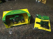 Athearn 7760 & 77635 1/50 Scale John Deere 9620 Tractor With Disk Implement