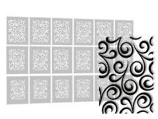 Airbrush Nail Art Schablonen selbstklebend - Nailart Airbrush Stencils