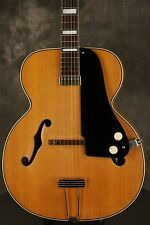 "1951 National California BLONDE electric archtop FLAME MAPLE back/sides 17"" body"