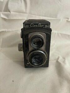 Ciro-Flex camera 85mm f/3.5 Wollensak Anastigmat lens Rapax shutter FOR PARTS