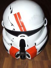 STAR WARS CLONE TROOPER FIBREGLASS ROTS AIRBORNE COMMANDO HELMET FULL SIZE
