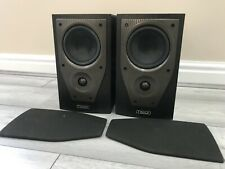 MISSION M71 BLACK ASH BI-WIRE COMPACT SIZE BOOKSHELF LOUDSPEAKERS (PAIR OF)