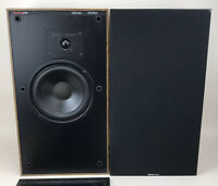 Boston Acoustics A70 Series II 2 Way Speakers Made In USA Refoamed Local Pickup