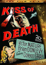 1947 KISS OF DEATH . Victor Mature Brian Donlevy DVD FF FILM NOIR . FAST SHIP
