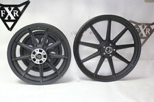 Harley 16 & 19 mag wheels + pulley BLACK FXR Dyna XL FXRT FXRP 99 down EPS20048