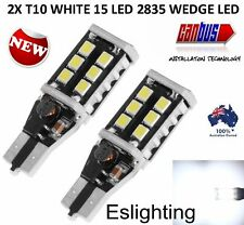 2X T10 T15 WEDGE W5W  STOP TAIL PARK SIDE 2835 LED LIGHT BULB CANBUS ERROR FREE