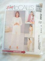 Vtg 2000 Sewing Pattern Jacket Tunic Pull on Pants & Skirt Size 14-16-18 Uncut