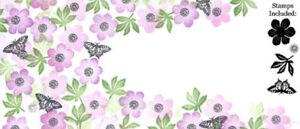 Card-io Anemone Garden Majestix Clear Peg Stamps CDMAAN-01