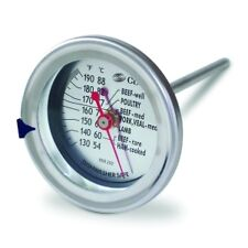 CDN Large Dial Meat Thermometer Oven Safe Kitchen Roast/Chocolate/Turkey/Bbq New