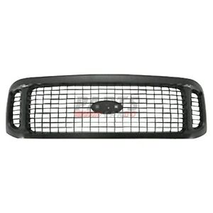 NEW GRILLE BLACK FITS 2001 FORD EXCURSION 1C7Z8200BAA