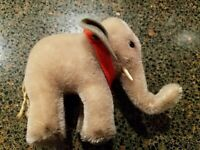Steiff Teddy Bears - Elephant Miniature Soft Toy - Lovely!