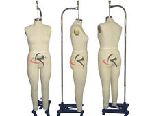 Professional Pro Female Working Dress Form Mannequin Full Size 20arm