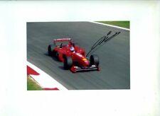 Mika Salo Ferrari F399 Italian Grand Prix 1999 Signed Photograph 1
