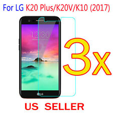 3x Clear LCD Screen Protector Guard Cover Film For LG K20 Plus / K20V /K10(2017)