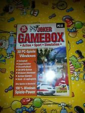 PC-Joker Gamebox: Action - Sport - Simulation Action sport (PC, 2005) #LB383