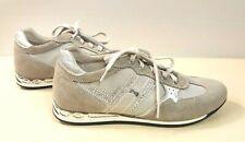 ё41D) Luxsus Designer Nero Giardini Schuhe Sneakers Wildleder Gr.36 NEU UVP145€