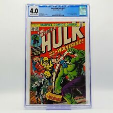 INCREDIBLE HULK #181 CGC 4.0 - 1st Appearance of Wolverine