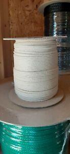 3 mm x 687 ft. Diamond Braid Cotton Rope Spool.Natural