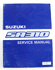 Suzuki SA310  January 1984 factory workshop manual