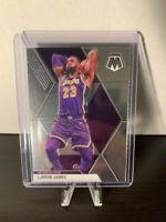 LeBron James 2019-20 Panini Mosaic Basketball Base Card #8 NBA MVP Lakers