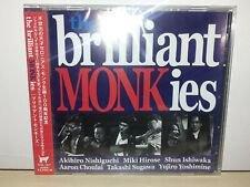 THE BRILLIANT MONKIES - SCOL- 1017 - JAPAN - CD