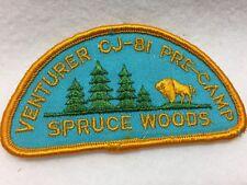 Boy Scouts -  CJ '81. Venturer Pre-Camp @ Spruce Woods  patch