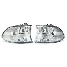 For 99-01 BMW E38 7-SERIES Corner Lights Side Light - Clear Lens 740i 740iL 750i