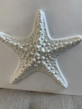 POTTERY BARN CERAMIC SEA LIFE TILE STARFISH NEW SOLD OUT AT POTERY BARN RARE