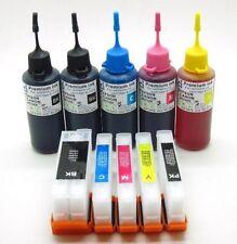 RICARICABILI Cartuccia di inchiostro KIT si adatta Epson xp520 xp620 xp625 xp720 xp820 NON-OEM