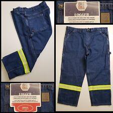 Big Bill  Men's casual formal denim jeans pants logger dark wash 44 x 30