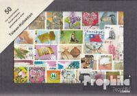 China-Taiwan 50 verschiedene Sondermarken