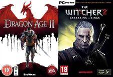 Dragón age 2 & The Witcher 2 asesinos de los Reyes