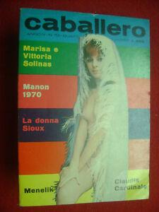CABALLERO RIVISTA SEXY X UOMINI Nr.70 ANNO IV 1970+NMINT++