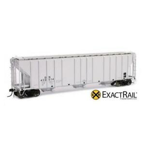 Exactrail HO SCALE: MAGOR 4750 COVERED HOPPER - BURLINGTON NORTHERN 1