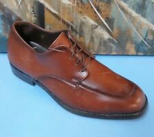 Vintage Jaman Deluxe Brown Leather Dress Shoes mens 12 EE