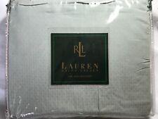 Nip Ralph Lauren Villandry Check Blue/Green King Bedskirt Ruffle $175
