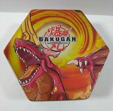 BAKUGAN Red Series Tin Only Battle Brawlers 2008