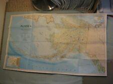 ALASKA MAP May 1994 National Geographic