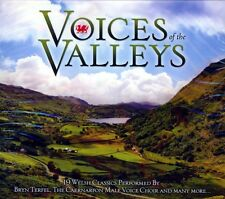 VOICES OF THE VALLEYS 19 WELSH CLASSICS (NEW SEALED CD)