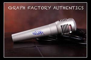 GFA Girls Chase Boys INGRID MICHAELSON Signed Microphone AD1 COA