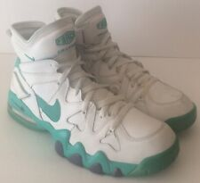 the latest 0ee8a 2dce5 Nike Air Max 2 Strong Force Basketball Shoe Mens Sz 11.5US 555104 100  Hornets