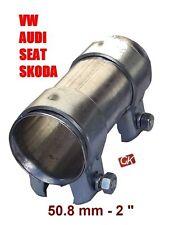 VAG échappement Tube Tuyau Connecteur Joint Manchon Collier 50mm VW AUDI SEAT